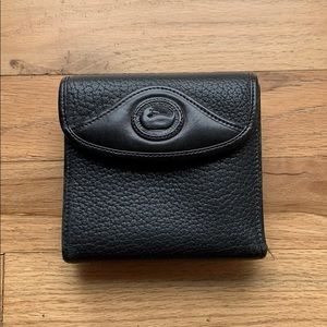 Dooney & Bourke Black Leather Wallet